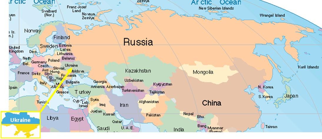 Scratching the itch in Eastern Europe and Russia – Europe Map Russia
