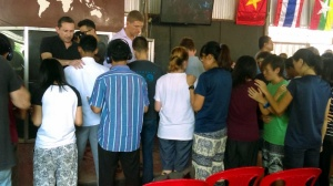praying for people who know they are called to pioneer new ministries in various nations